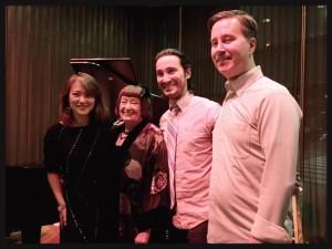 Sheila Jordan with the Yoko Miwa Trio at Thelonious Monkfish