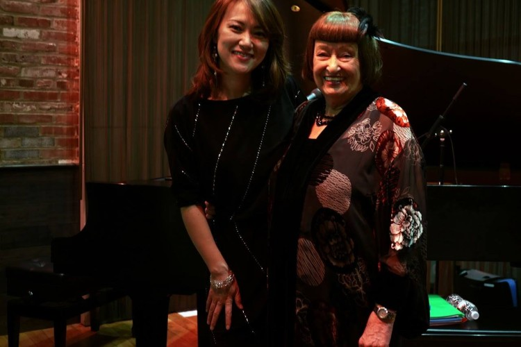 Yoko Miwa and Sheila Jordan
