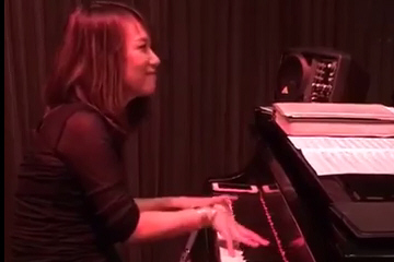 "Yoko Miwa Trio plays ""Lickety Split"" at Thelonious Monkfish in Cambridge, MA"