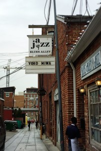 Yoko Miwa Trio at Blues Alley in Washington DC