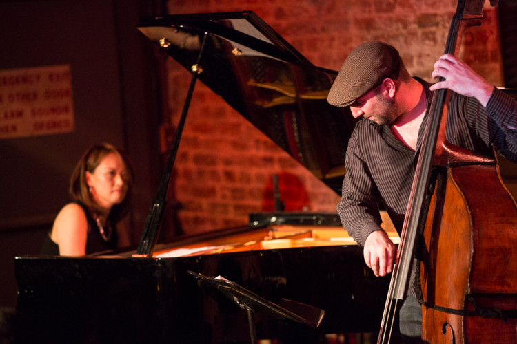 Yoko Miwa and Will Slater at Blues Alley in Washington DC