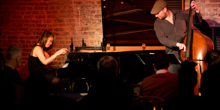 Yoko Miwa and Will Slater at Blues Alley in Washington DC