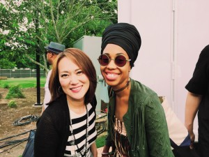 Yoko & Jazzmeia Horn (photo by Scott Goulding)