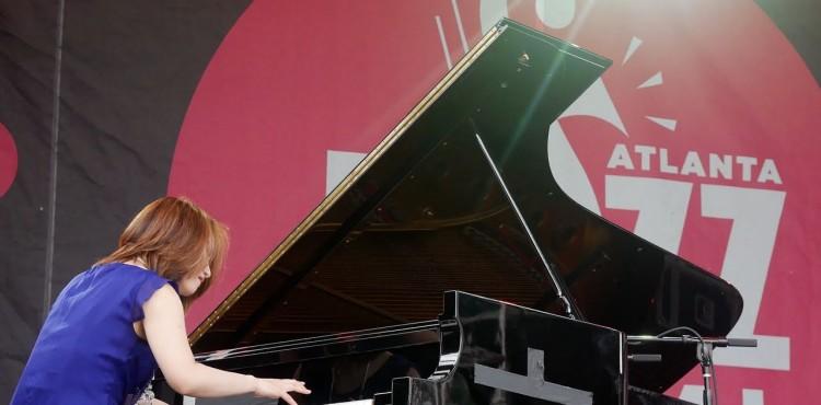 Yoko Miwa at Atlanta Jazz Festival