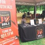 Radio Interview (photo by Scott Goulding)