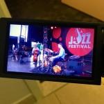 Yoko Miwa Trio at Atlanta Jazz Fest. Photo by Dave Habeeb