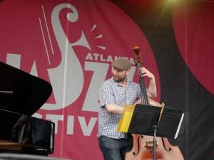 Will Slater at Atlanta Jazz Festival