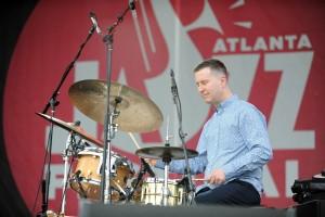 Scott Goulding at the Atlanta Jazz Festival