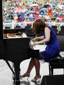 Yoko Miwa at the Atlanta Jazz Festival