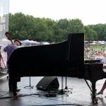 Yoko Miwa Trio at the Atlanta Jazz Festival