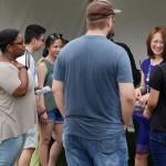 Yoko meeting Atlanta fans!