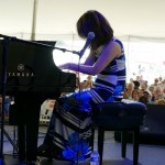 Yoko Miwa at the 2018 Litchfield Jazz Festival