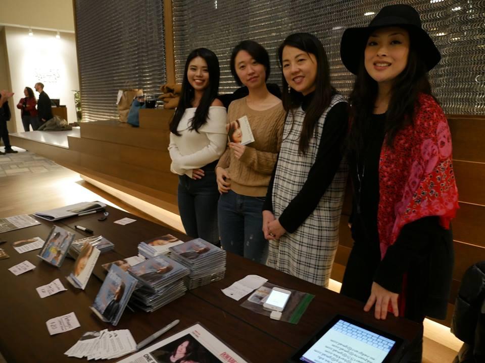 Thanks to the women of team Yoko!