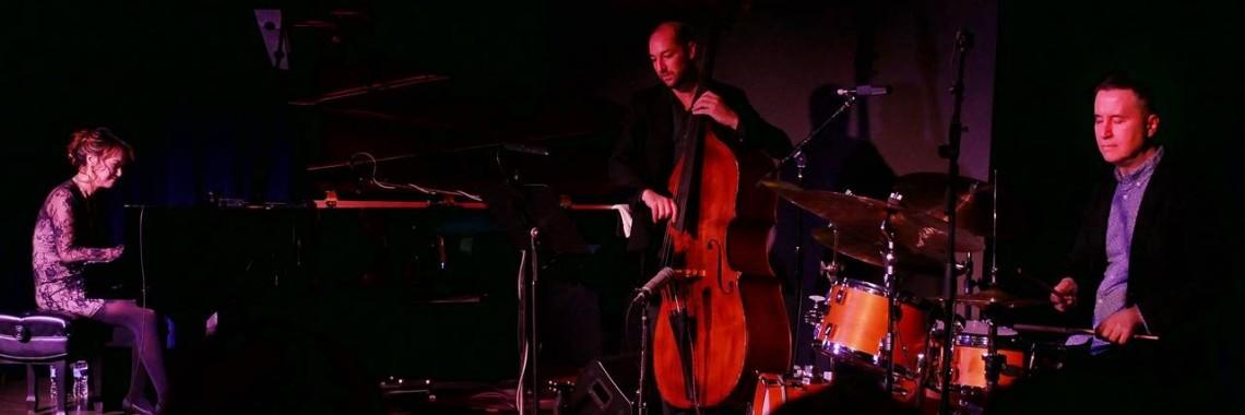 Yoko Miwa Trio! WIll Slater on bass, Scott Goulding on drums