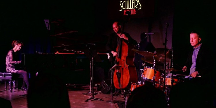 Yoko Miwa Trio! WIll Slater on bass, Scott Goulding on drums
