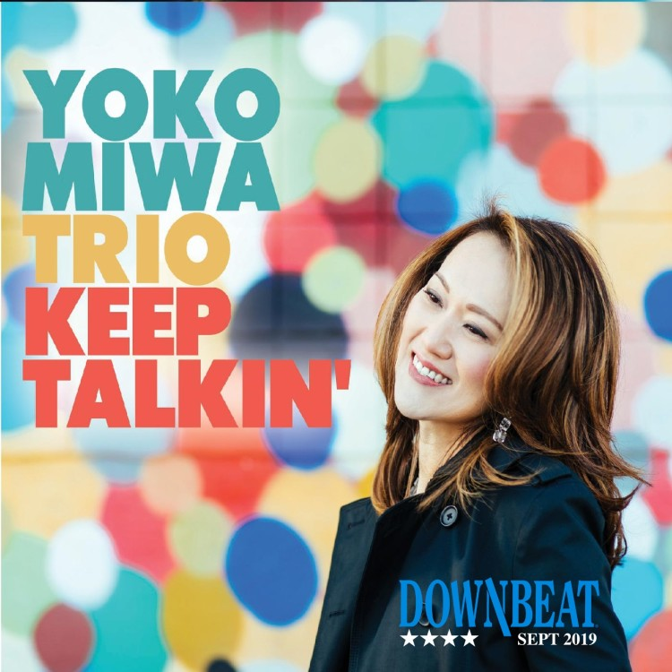 Keep Talkin' received 4 stars from Downbeat Magazine