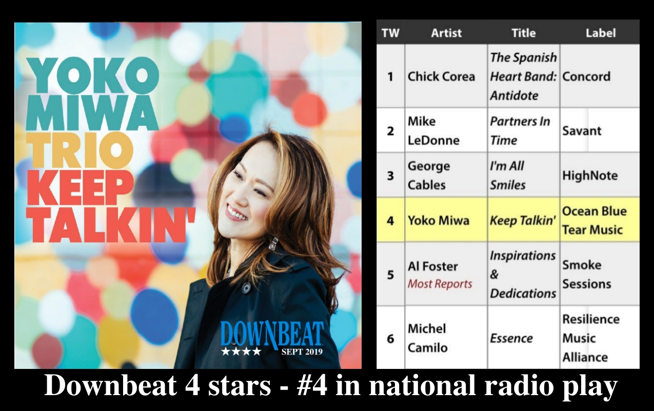 Downbeat gave the album 4 stars and the album reached #4 in nationwide radio play.
