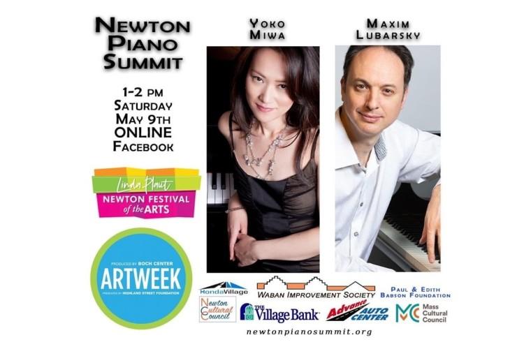 Newton Piano Summit 2020 with Yoko Miwa and Maxim Lubarsky