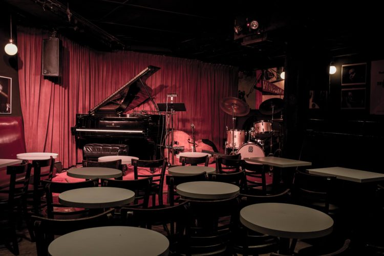 Inside the Village Vanguard (photo by Michael Larson)