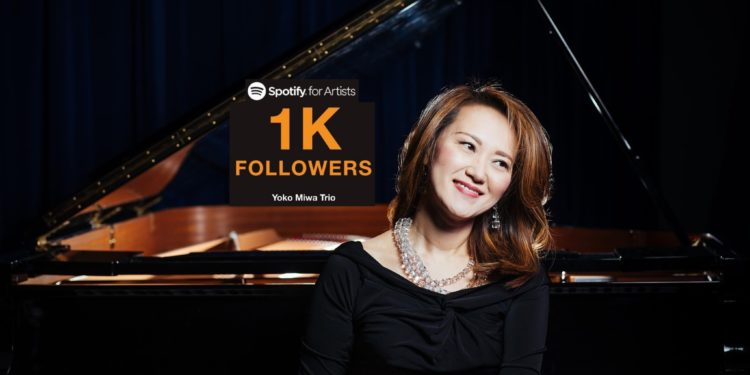 Yoko Miwa Trio hits 1000+ Spotify followers