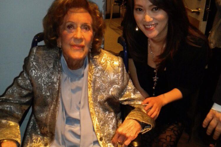 Marian McPartland and Yoko Miwa