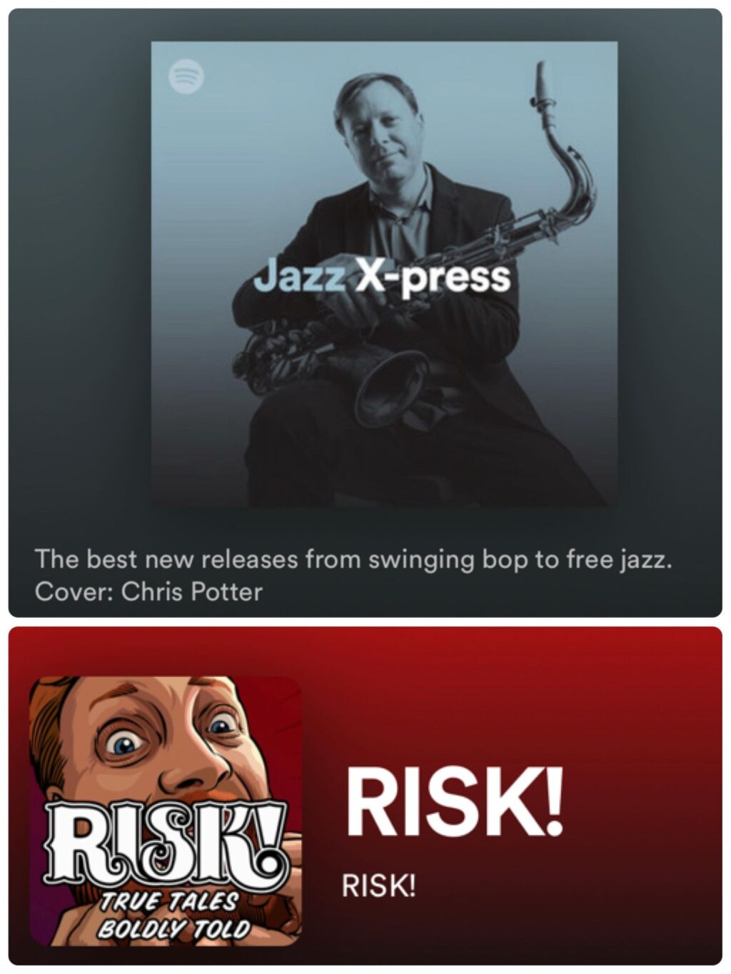 "New single ""Largo Desolato"" on playlist of best new jazz and on RISK! podcast"