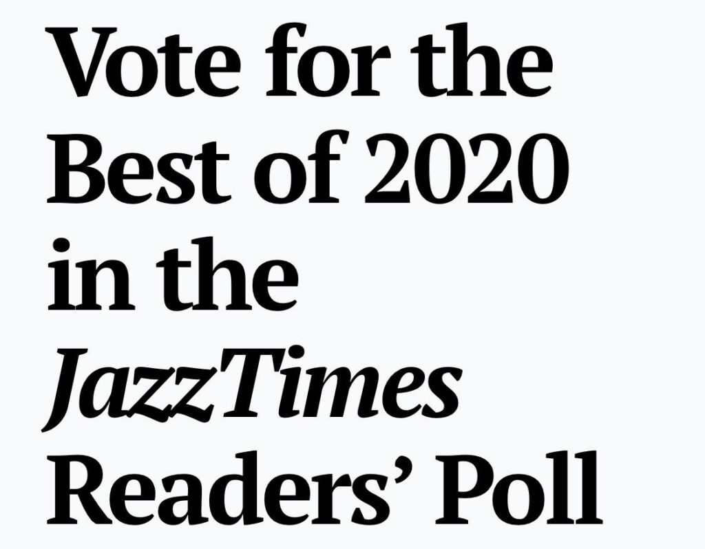 """Vote for Yoko Miwa's """"Songs of Joy"""" for Best New Release in the Jazz Times Best of 2020 Readers' Poll"""