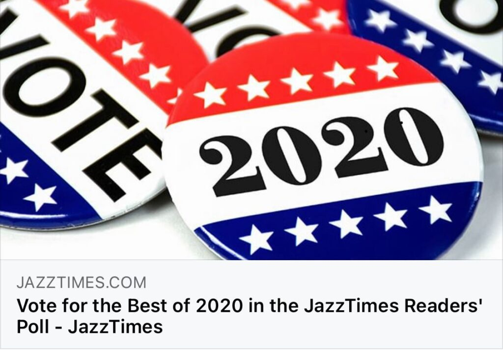 Vote for Yoko Miwa in the Jazz Times Best of 2020 Readers' Poll