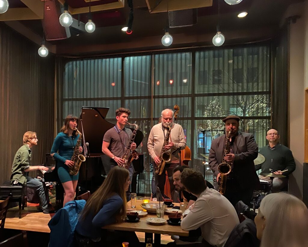 Jazz Jam Session at The Mad Monkfish