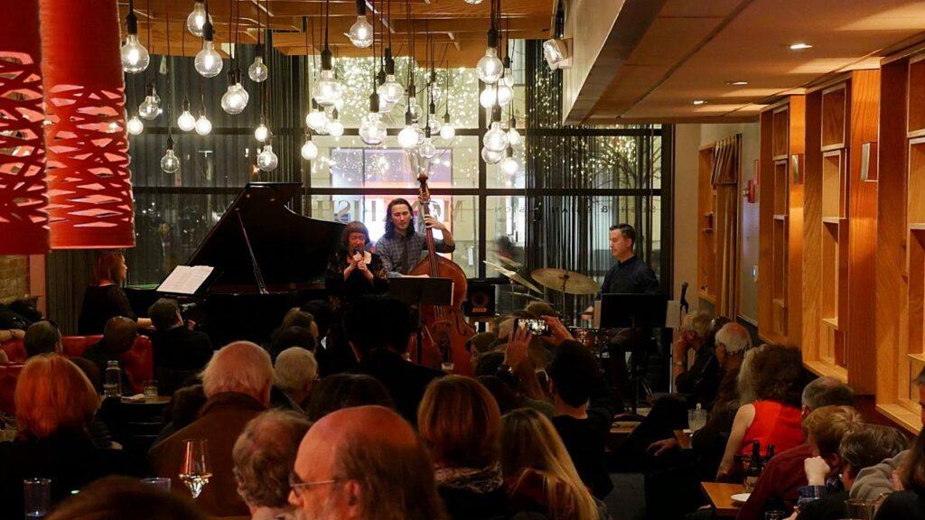 Yoko Miwa Trio with Sheila Jordan at The Mad Monkfish (photo by Janice Tsai)