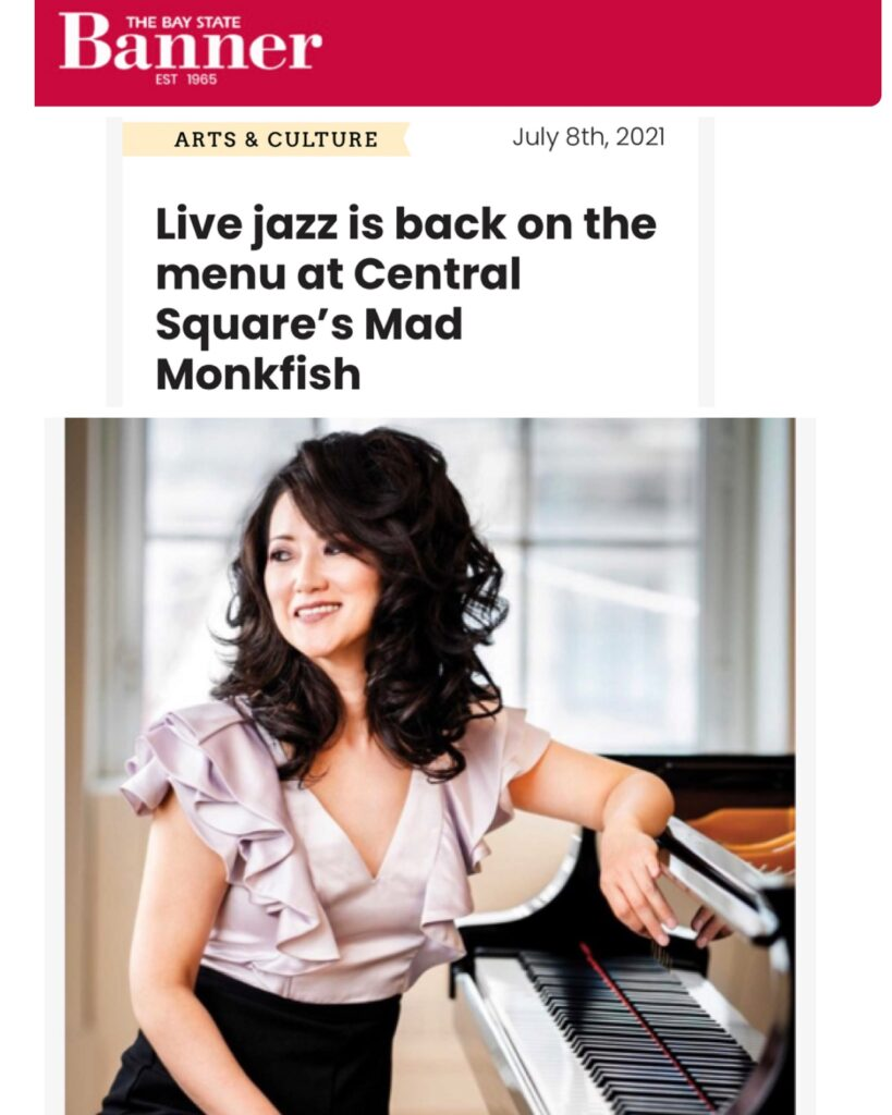 Live jazz is back on the menu at The Mad Monkfish - with Yoko Miwa - Bay State Banner