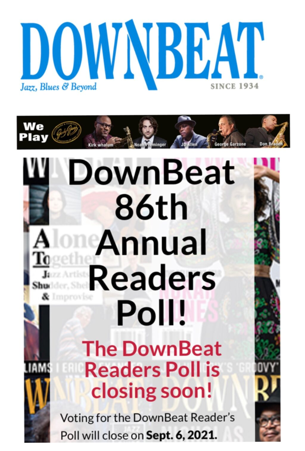 Vote for Yoko Miwa in the Downbeat Readers Poll