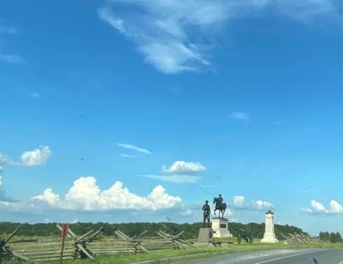 Gettysburg battlefield 1