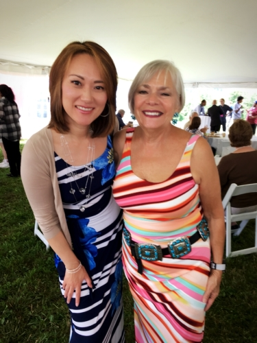 Yoko Miwa and Vita Muir at the 2018 Litchfield Jazz Festival
