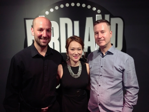 The Yoko Miwa Trio at Birdland, 1 July 2019. Photo by Jay Tee.