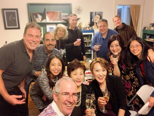 After party! [Photo by Janice Tsai]
