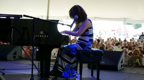 Yoko Miwa at the 2018 Litchfield Jazz Fesival