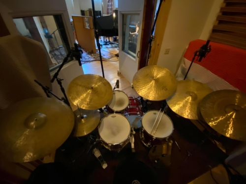 Wellspring Studios - Drums Isolation Booth