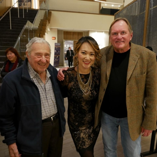 with Fred and Arthur Dahl
